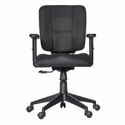 Black Fonzel 1820112 Lawrence Medium Back Office Chair