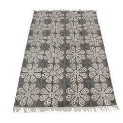 Printed Cotton Rugs, Size: 4 X 6 Feet