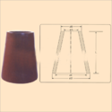 Conical Support Insulator For ESP