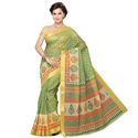Party Wear Bhagalpuri Saree, Length: 5.5 M