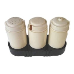 Plastic Salt N Pepper Set