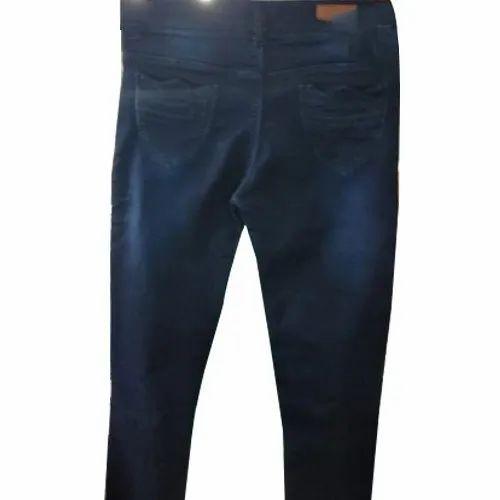 29505a32aa Blue Mens Casual Wear Faded Jeans