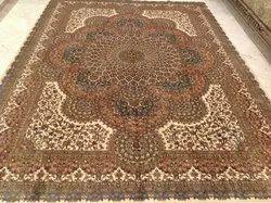 For Home Red Kashmiri Silk Carpets