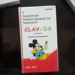 Amoxycillin and Potassium Clavulanate Dry Syrup