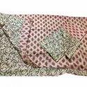 Ladies Chanderi Cotton Printed Unstitched Salwar Suit