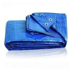 Blue And Yellow Silpaulin Tarpaulins, For More Uses Like Water Proof Cover And Car Cover