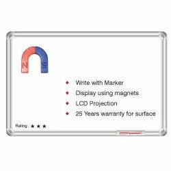 White Ceramic Marker Writing Board