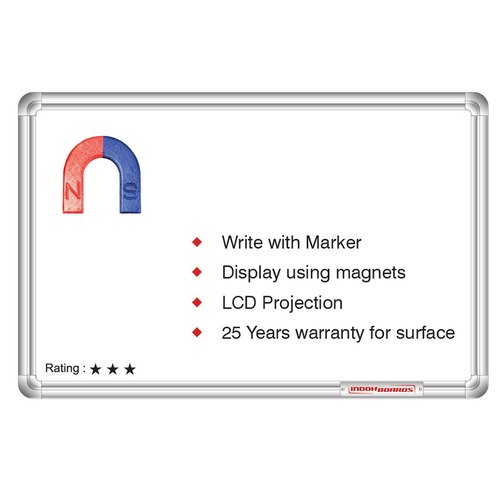White Boards - White Non-Magnetic Marker Writing Board
