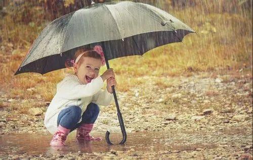 ICH Polyester Rain Umbrella