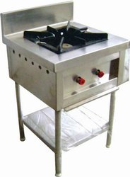 naakoda Ss commercial kitchen equipment, For Gas, Model Name/Number: Single Burner Range