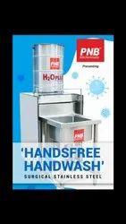 Pedestal Stainless Steel Hand Wash Sink
