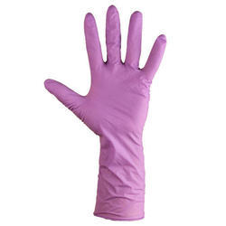 Safe Skin Purple Nitrile Gloves