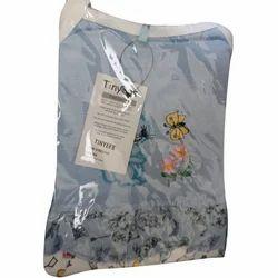 Cotton Baby Girl Half Sleeve Dress Set