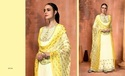 Muslin Silk Embroidered Party Wear Salwar Kameez