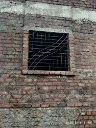 Modern White Mild Steel Window, For Residential