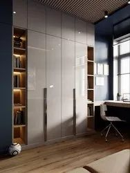 Brown Wooden Designer Wardrobes