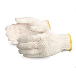 40 GSM Cotton Knitted Gloves