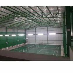 Mild Steel Panel Build Badminton Court Roofing Shed