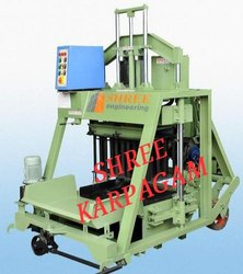 Hydraulic Concrete Hollow Block Making Machine