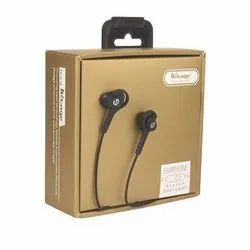Black Hitage Wired Mobile Earphone