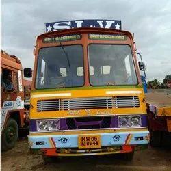 Offline steel tmt 40ft trailer transport service, LOCAL