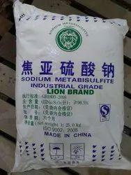 Sodium Metabisulfite 96% Lion Brand