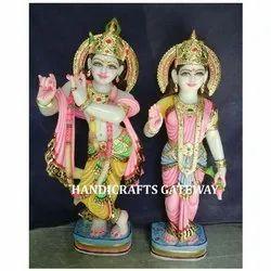Exclusive Marble Radha Krishna Idol