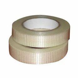 White Cross Filament Tape