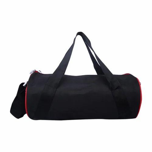 3123060f7d6 Black And Red Printed Push Black Gym Bag, Rs 145  piece, SR ...