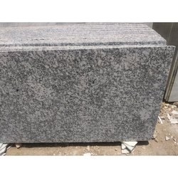 Polished Thick Slab P White Granite, Floor & Wall, Thickness: 15-20 mm