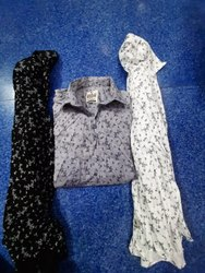 Printed Satin, Cotton Shirts