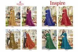 Kalista Fashion Inspire Beautiful Colours Fancy Sarees Catalog