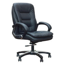 Leatherette Rotatable Nilkamal Office Chair