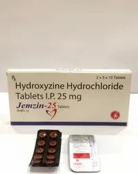 HYDROXYZINE HYDROCHLORIDE 25 MG TABLET