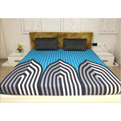 Double Bed Fitted Traditional Bedsheet