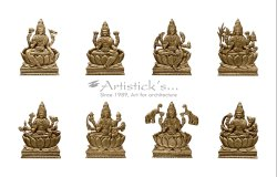Astalakshmi Brass Accessories