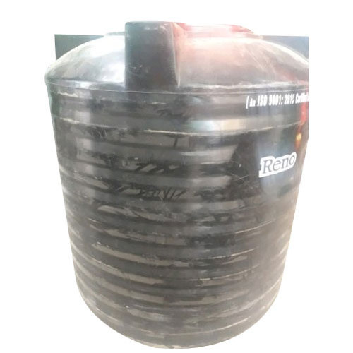 Hdpe Black 1000 Litre Water Tank Capacity Litre 275 To 500 L Id 19448544588