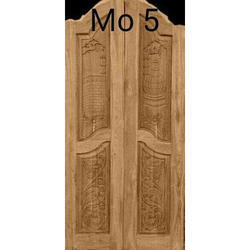 Teakwood Double Door