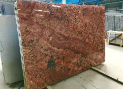 Red Alaska Granite, Thickness: 15-20 mm