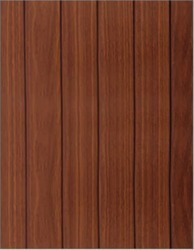 WM-407 Step Teak PVC Wall Panel
