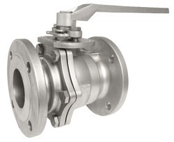 Stainless Steel High Pressure SS Ball Valve Flange Type