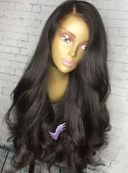 Loose Weave Lace Front Human Hair Wig