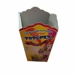 Printed Popcorn Box