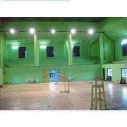 Synthetic Flooring Badminton Court Construction, in Kolkata
