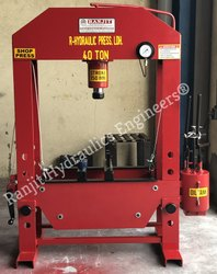 Manual Operated Hydraulic Press 40 Ton