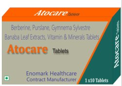 Vitamin and Magnesium Berberine, Banaba Leaf Extract Purslane, Gymnema Sylvestre Tablets