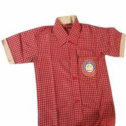 Summer Cotton School Uniform Shirt