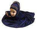 Dark Blue Color Soft Hosiery Cotton Hijab Dupatta for Women