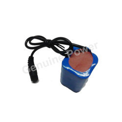 12v 6600 mAh Battery Pack for Breathing Machine Monitor