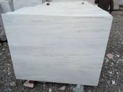 White Polished Finish Aarna marble, Slab, Thickness: 10-15 mm
